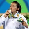 María del Rosario Espinoza gana la medalla de plata en los Olímpicos de Río 2016