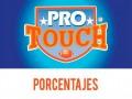 Porcentajes ProTouch del concurso 757 – Partidos del Domingo 27 al Lunes 28 de Septiembre del 2020